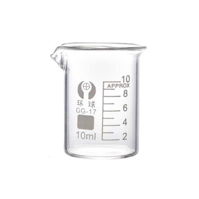 Vaso de precipitado medida 10 ml - 1