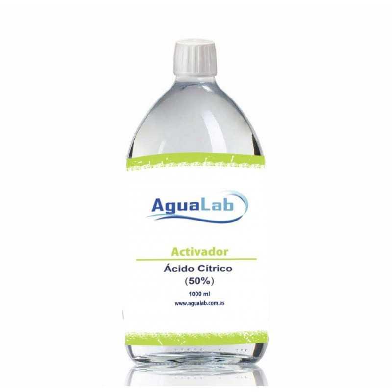 Agualab Zitronensäure 50% 1 Liter - 1