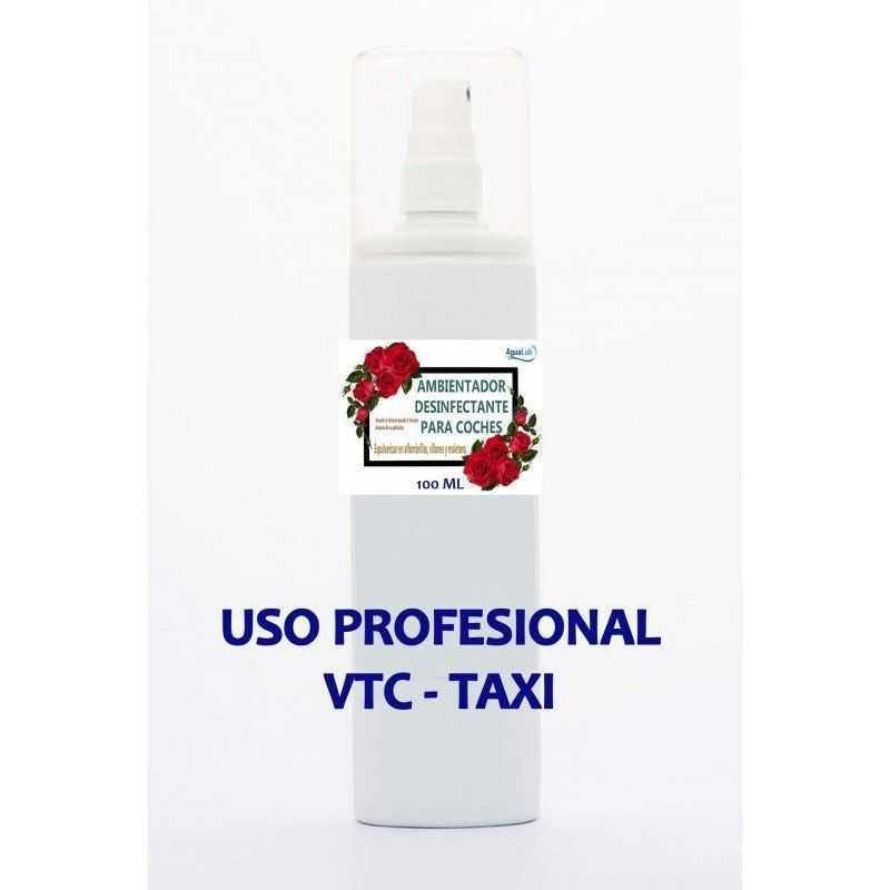 Ambientador Agualab con desinfectante para vehículos VTC y TAXI Agualab - 1