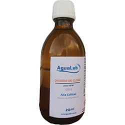 Empty glass bottle Agualab 250ml Agualab - 1