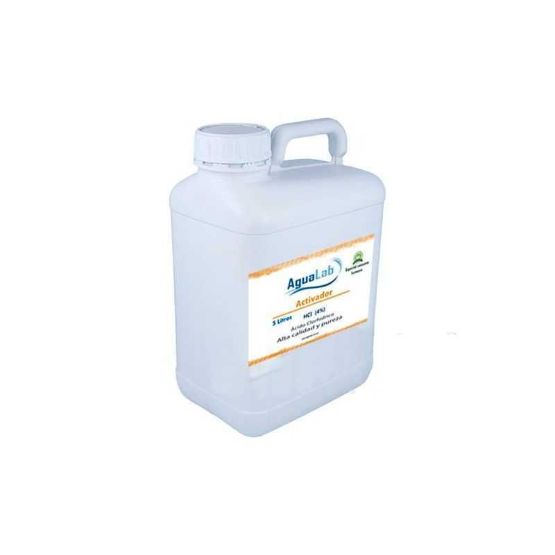 Ácido clorídrico 4% 5 litros Agualab - 1