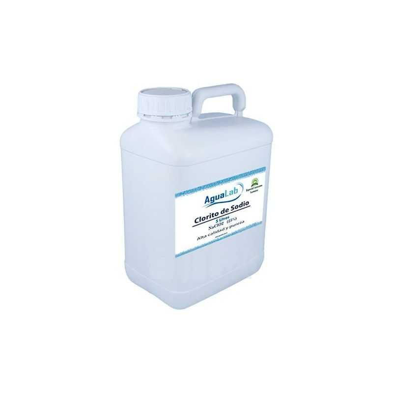 Clorit sòdic a l'25% 5 Litres Agualab - 1