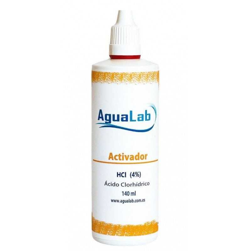 Aqualab hydrochloric acid 4% 140ml Agualab - 1