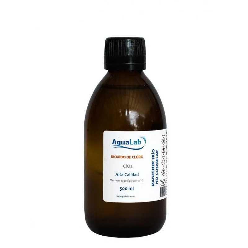 Comprar Dióxido de Cloro en envase de cristal 500 ml Agualab - 1